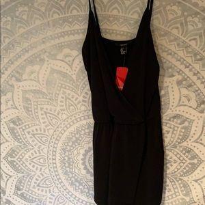 Black Skort Jumpsuit